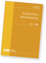 Antiquitates Mathematicae